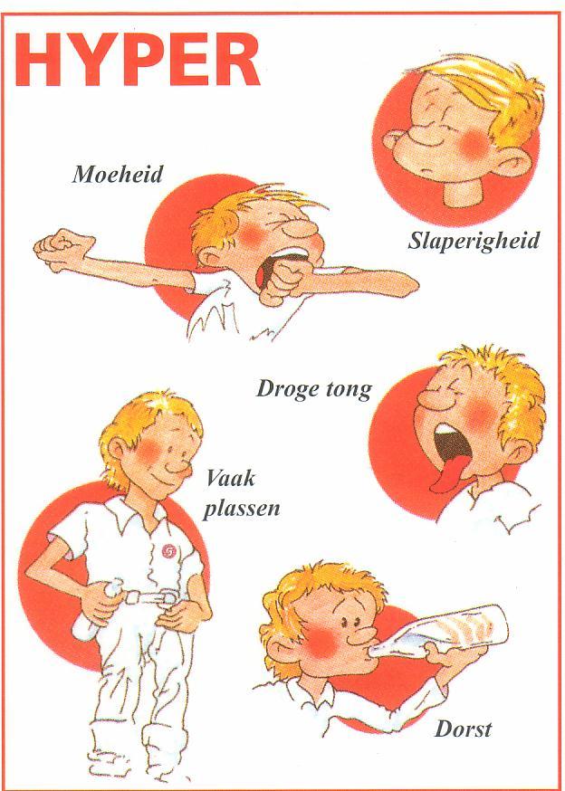 lage bloedsuikerspiegel symptomen